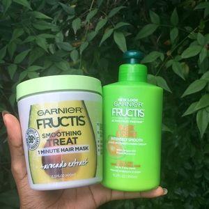 Garnier Fructis hair bundle